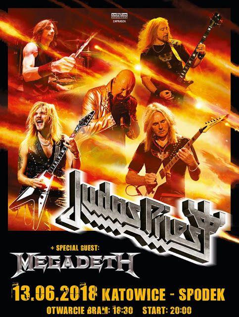 Heavy Metal Music & More  : Judas Priest i Megadeth razem na koncercie w Polsc...