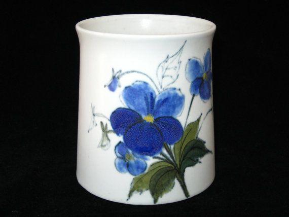 Arabia Finland Hilkka Liisa Ahola HLK Blue Flower by ModandMore