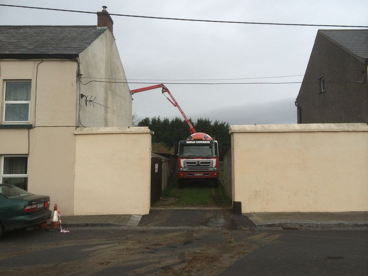 Anything is possible with good neighbours and the willing Doyle concrete crew - Ready Mix Concrete and Easy flow concrete Suppliers, Precast Concrete - Doyle Concrete http://www.doyleconcrete.ie/work/detail/anything-possible-good-neighbours-willing-doyle-concrete-crew/