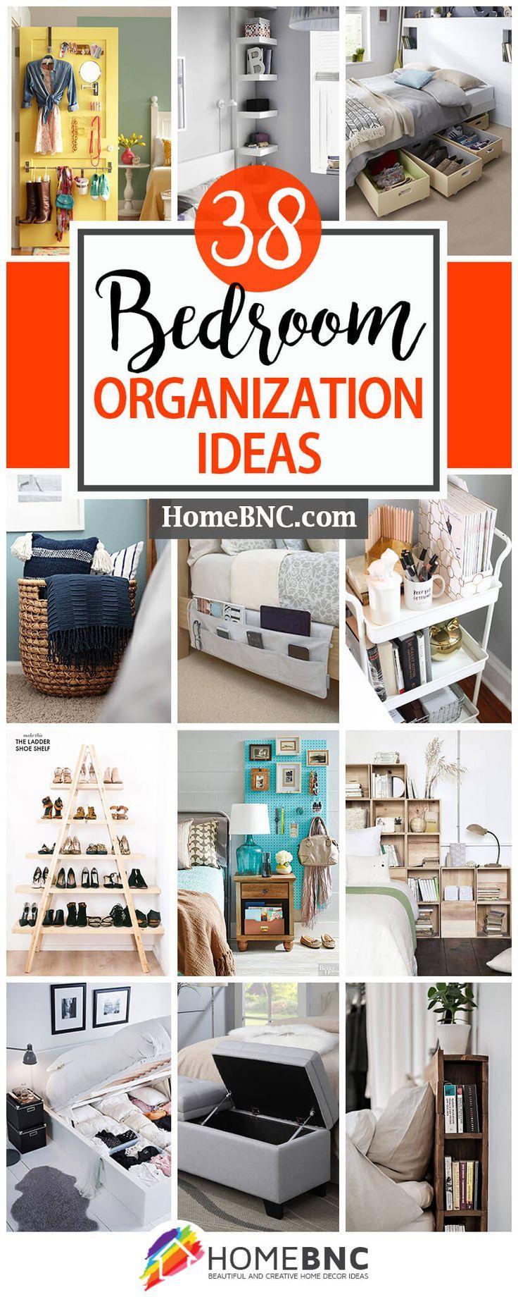 Best 25 bedroom organization ideas on pinterest room decor bedroom small bedroom - Bedroom organizing ideas ...