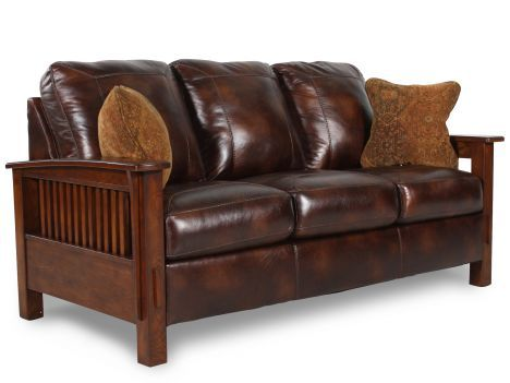 Mission Style Furniture Sofa Ashley Mission Style Furniture Ash C 8300138 Wilkins Thesofa