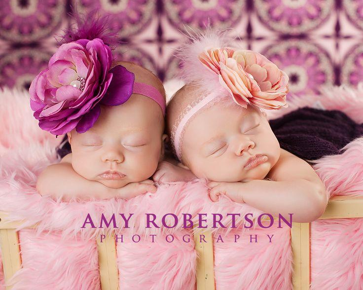 Twin babies lots of work but beautiful photo
