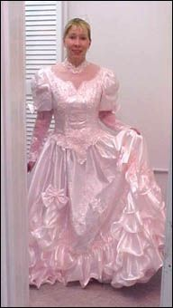 106 best ugly bridesmaid dresses images on pinterest bridesmade a pink gown for the sissy frilly bridesmaid junglespirit Choice Image