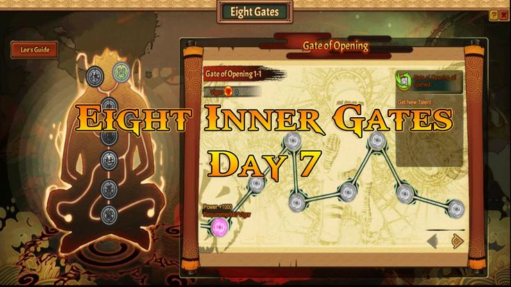 Anime Ninja | Eight Inner Gates : Day 7 | Naruto Game | Browser Online Game