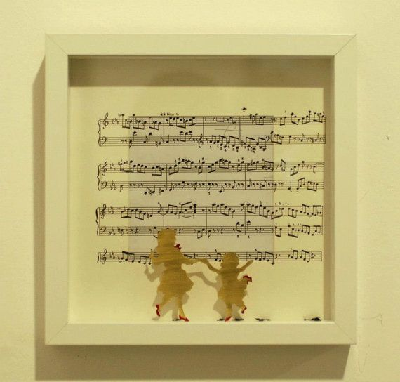 Let's dance to the music. on Etsy, 80,00 €