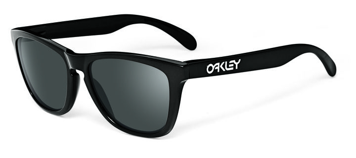 OAKLEY napszemüveg Frogskin Polished Black Grey Ára:32 174 Ft