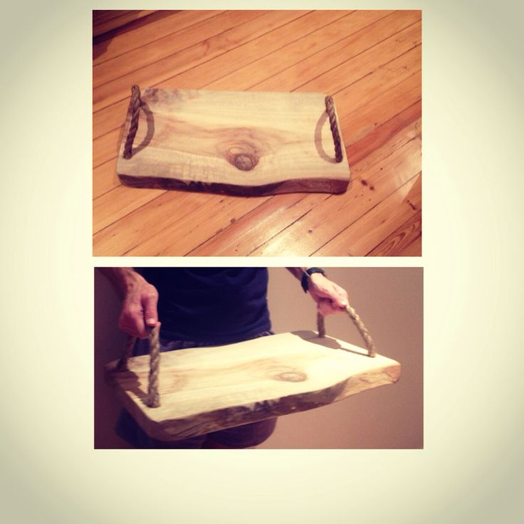 Raw Wood Serving Boards, great to use to serve canapés or on harvest tables...