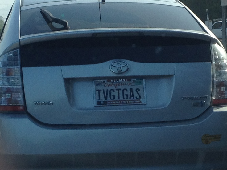 """Anyone else notice that Prius owners love the """"punny"""" license plates? This one may be TMIToyota Prius, License Plates, Personalized License, Jer Jer, License Pl8Z, Licen Plates, Personalized Plates, Prius Owners"""