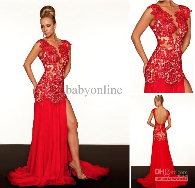 sexy red prom dresses that accentuate your curves and breast