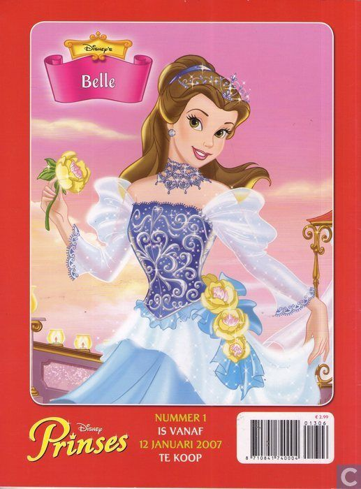 Strips - Belle en het beest - Disney Prinses 13