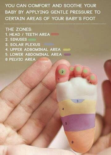 A baby foot massage does the body good! Thank you, Siminiski Chiropractic Clinic