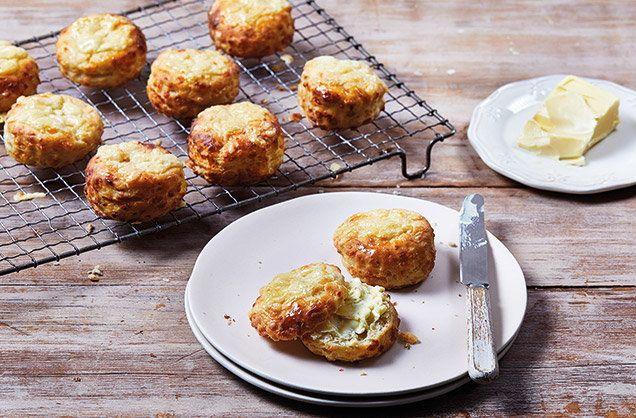 3 Ingredient Savoury Cheese Scones In 2020 Cheese Scones Tesco Real Food Scones