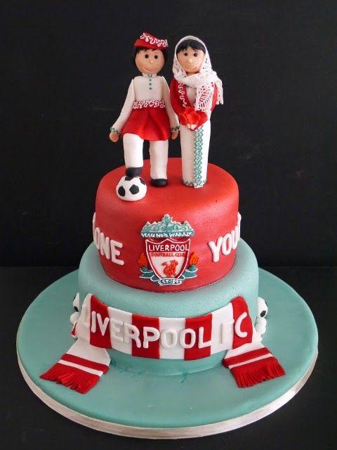 Liverpool Fc Wedding Cake