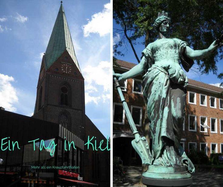 Ein Tag in Kiel  Kreuzfahrer sollten ihren Urlaub in Kiel verlängern, um sich die Stadt anzuschauen. Neben grünen Parks, einer Shoppingzone findest du auch Kurioses.