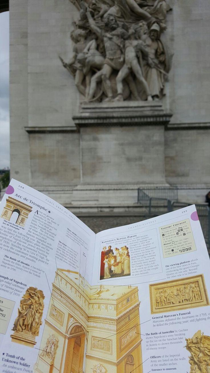 Exploring Arc de Triomphe, Paris