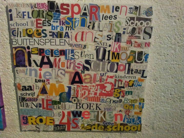 Letters, woorden en namen.