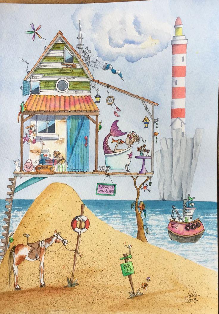 New watercolour on eBay