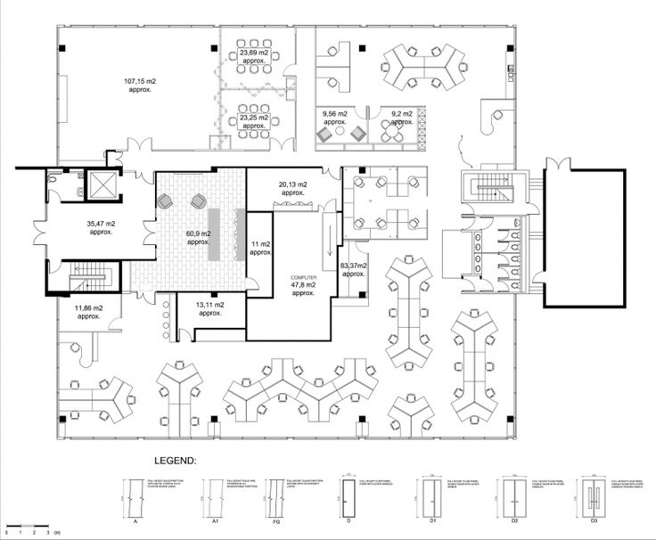 Office layouts a collection of other ideas to try the for Office space planning ideas