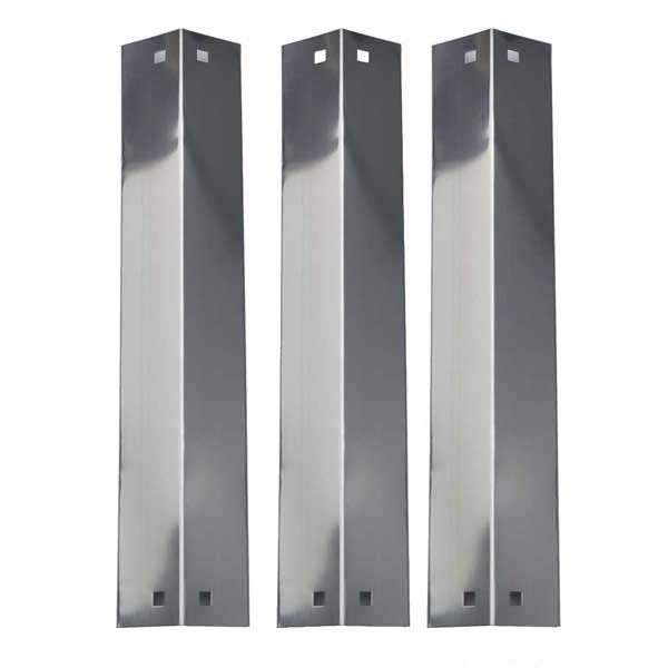 3 PACK REPLACEMENT STAINLESS STEEL HEAT SHIELD, VAPORIZOR BAR AND FLAVORIZER BAR FOR KING GRILLER 3008, 5252, CHARGRILLER 3001 GAS GRILL MODELS Fits Compatible King Griller Models : 3008, 5252 Read More @http://www.grillpartszone.com/shopexd.asp?id=33630&sid=20705