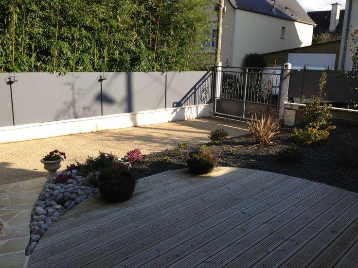 Les 25 meilleures id es de la cat gorie paillage bois sur pinterest am nagement paysager - Terrasse et jardin en ville montpellier ...