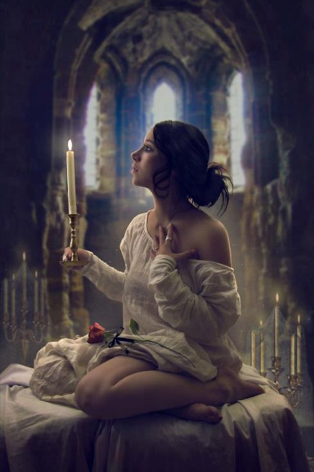 Christine daae inspired photo. Very beautiful