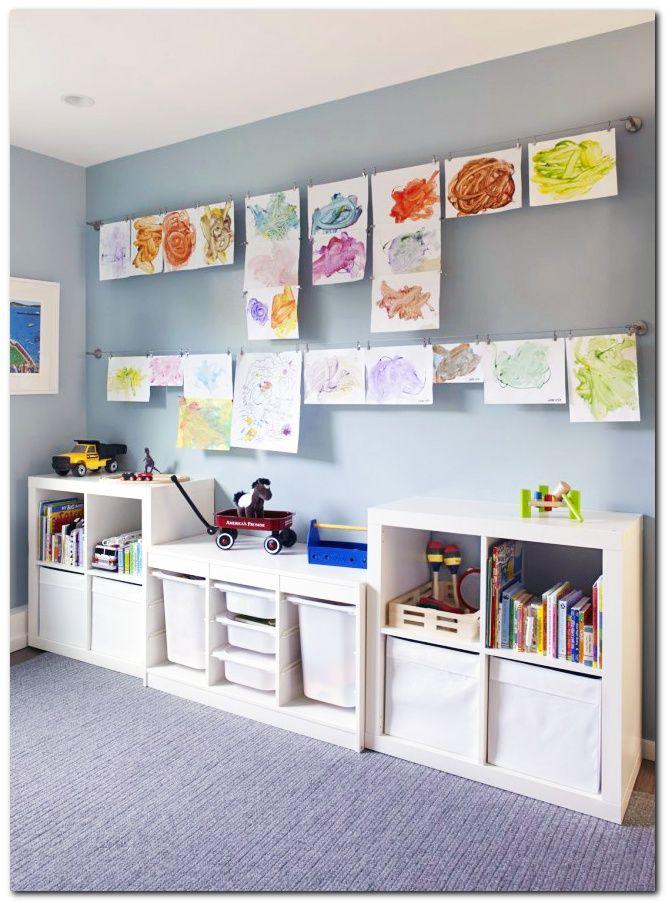 Mejores 283 im genes de decoraci n y organizaci n de la - Organizacion habitacion infantil ...
