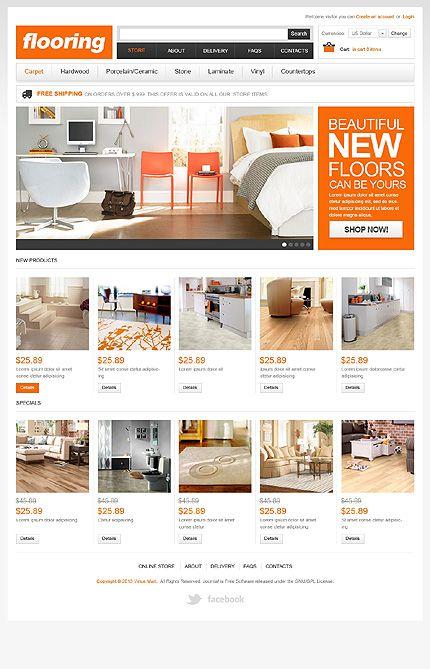 new floors virtuemart template furniture websitesflooring - Beautiful Furniture Websites