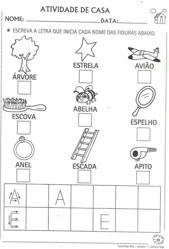 atividades educativas vogais a e i o u