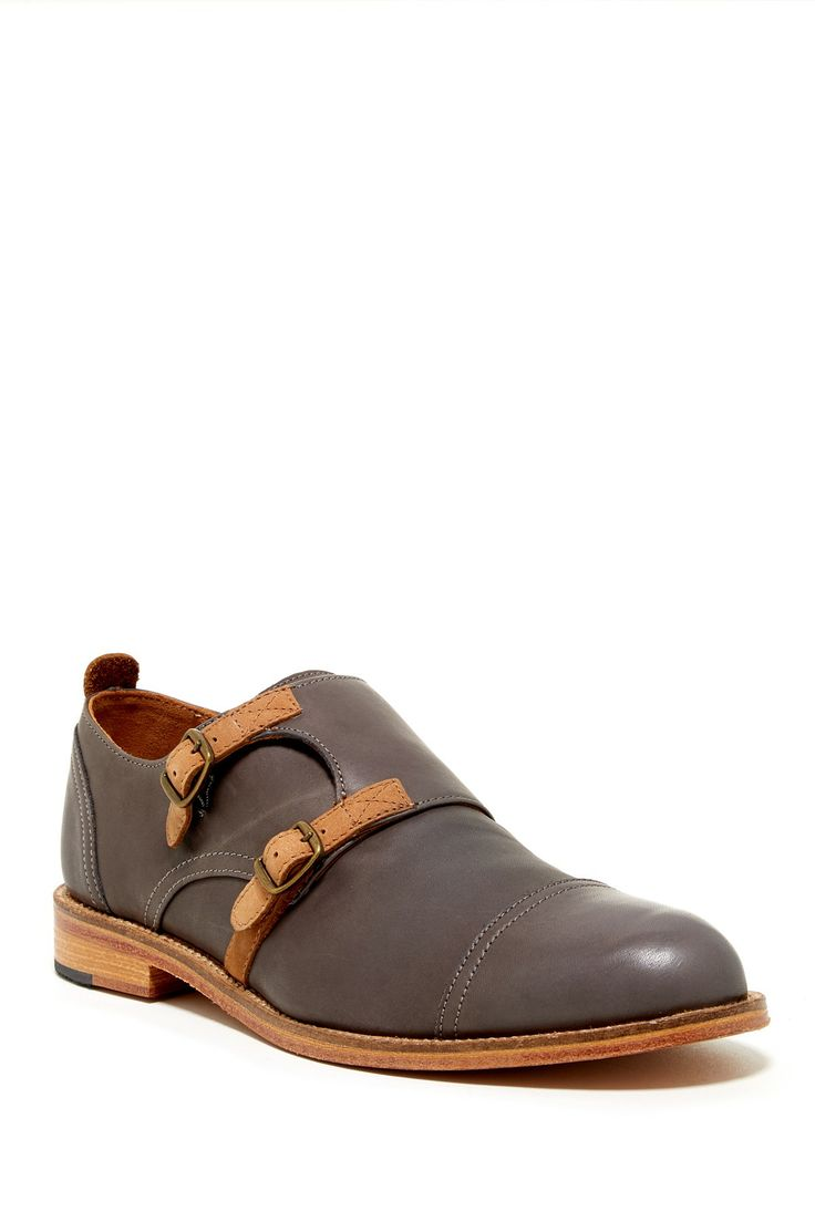 J Shoes Troop Monk Strap Shoe on HauteLook, Men's Spring Summer Fashion.