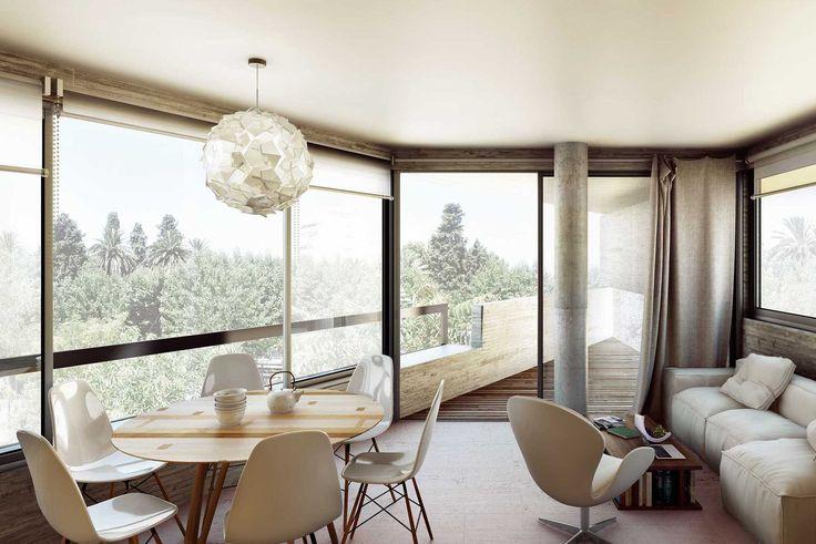 PARK VIEW FLORIDA - ProyectoC. Autores: Arq. Sebastián Cseh - Arq. Juan Cruz Catania.  #arquitectura #architecture #interiordesign #interiorismo #modernarchitecture #furniture