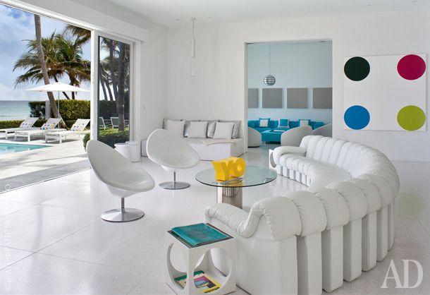 Дом дизайнера Лизы Перри в Палм-Бич