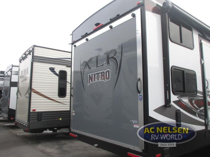 New 2017 Forest River RV XLR Nitro 29KW Toy Hauler Travel Trailer at AC Nelsen RV | Omaha, NE | #13411
