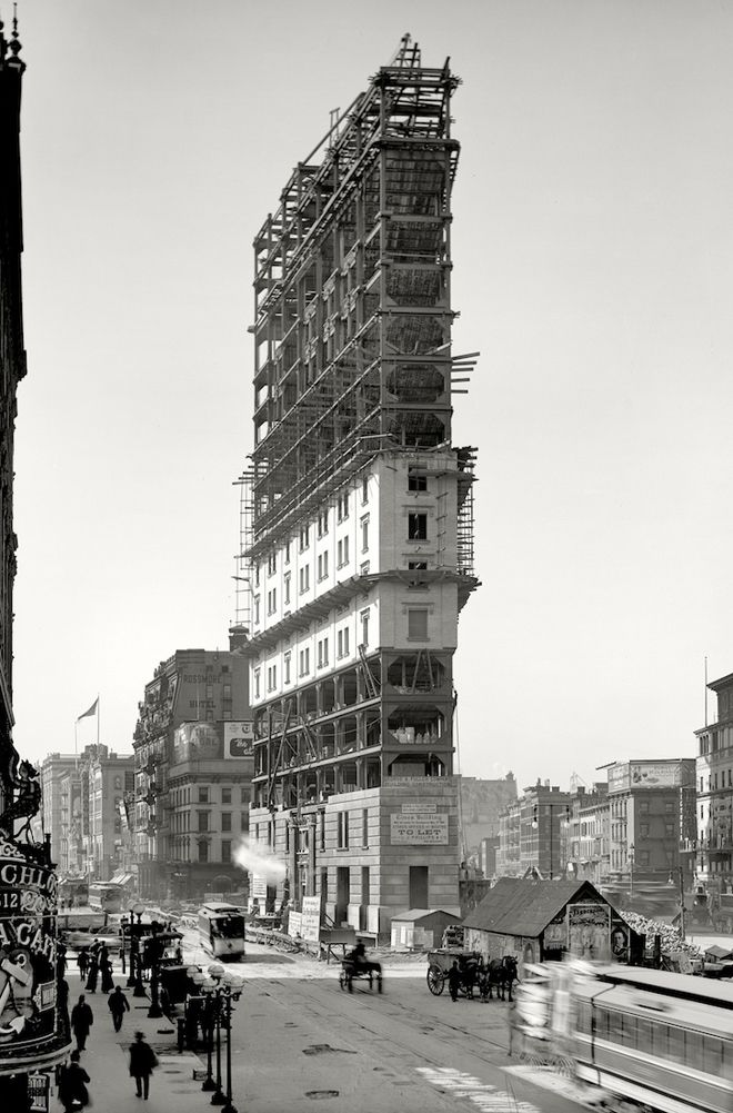 What 15 Historic New York City Scenes Look Like Today