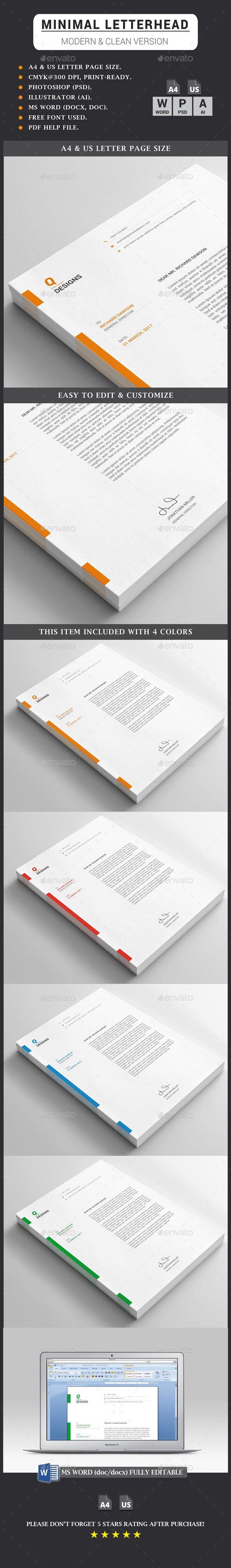 #Letterhead - Stationery Print Templates Download here:   https://graphicriver.net/item/letterhead/20254562?ref=suz_562geid
