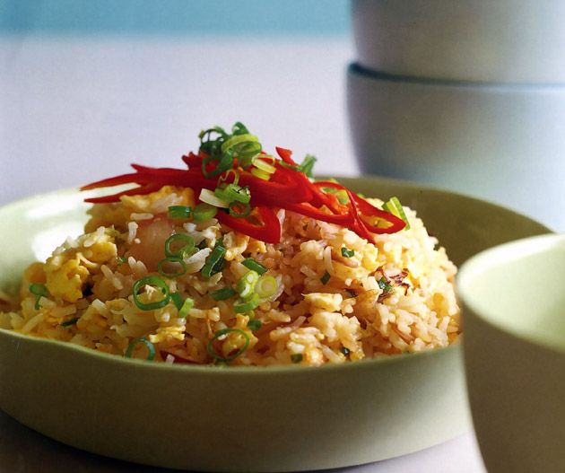 Kylie Kwong's Egg Fried Rice. Photograph © Earl Carter.