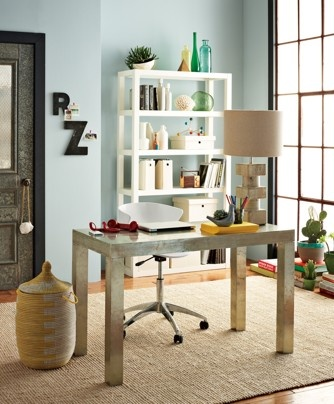 West Elm's Parsons desk ($349) is an example of a great buy on any budget. The iconic shape will always be in style, and its clean, simple design works in just about any setting or space, including an office, entry, a living room or bedroom.