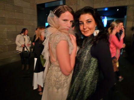 Fashion Designer Gwendolynne Burkin & Suzanne Carbone