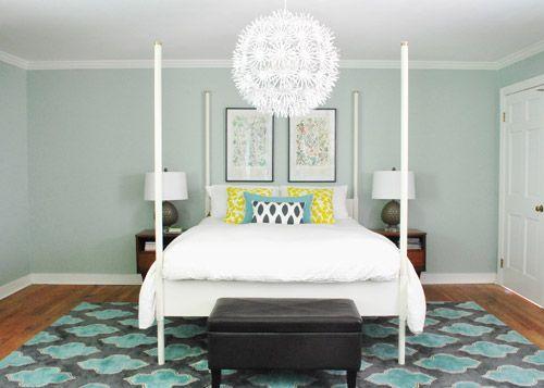 Symmetry Calming Bedroom Colorsbedroom