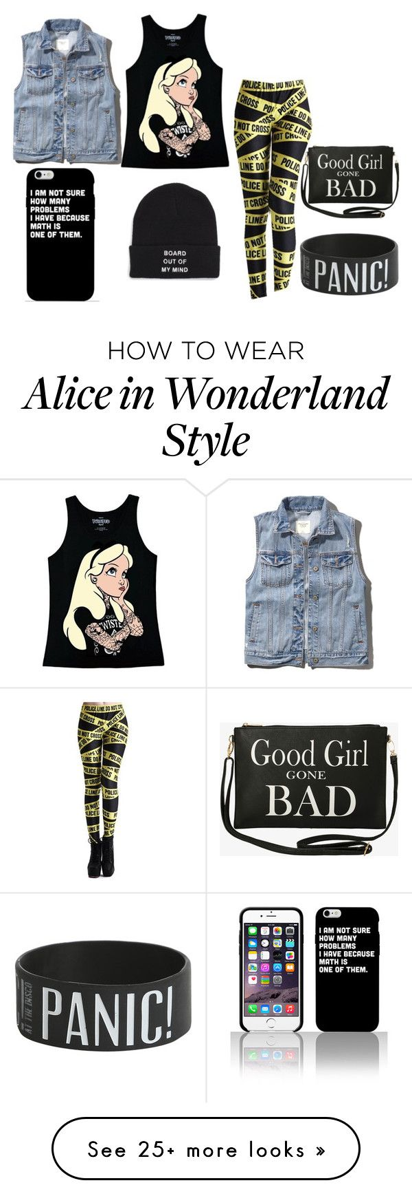 """Total FreakShow"" by beastblade on Polyvore featuring mode, Disney, Abercrombie & Fitch, Vans et Torrid"