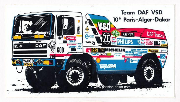 Collection privée - Thème Rallye Paris Dakar