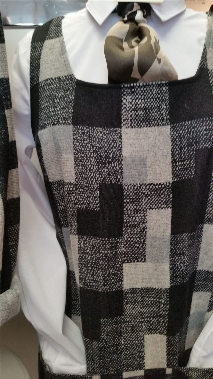 There is nothing quite like a black and white ensemble! Have fun this fall/winter season with layering!