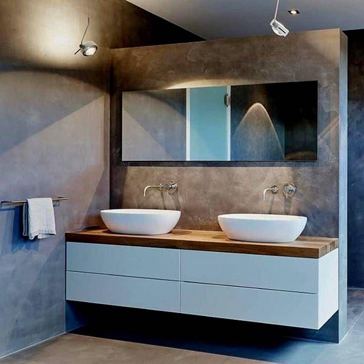 Badezimmer Ideen Doppelwaschbecken
