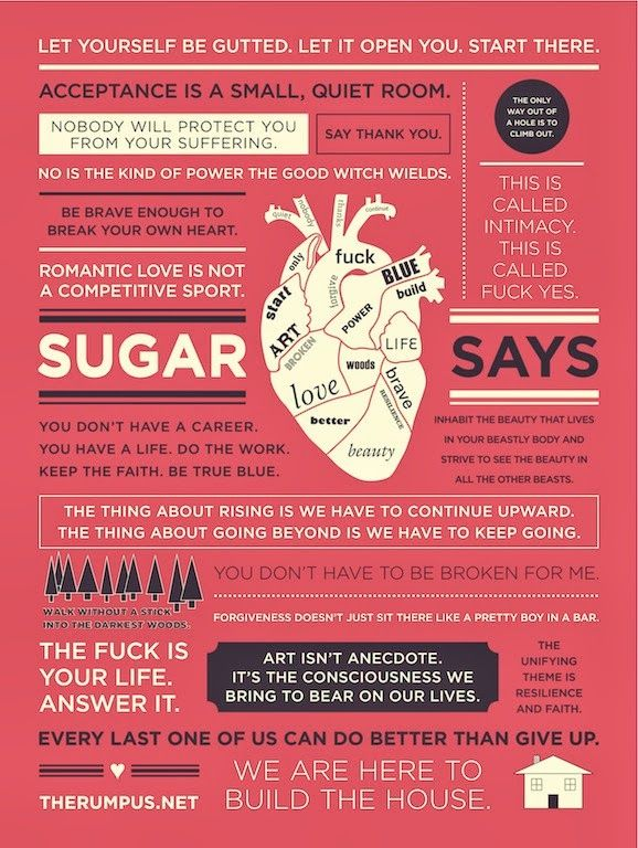 "quotes by Cheryl Strayed. add ""Dear Sugar"" to the list!"