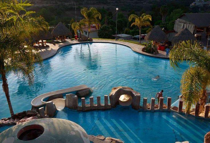 Baño Grande Balneario Hidalgo:Abierto todo el año, El Geiser #Balneario SPA t invita a conocer esta