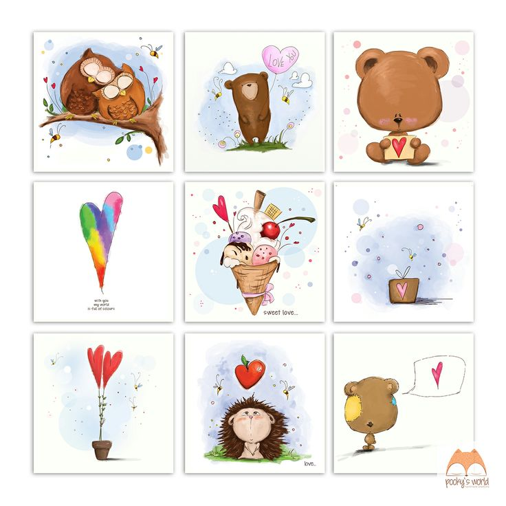 love cards from pooky`s world  #love #cards #pooky