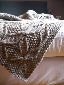 Umaro blanket, so pretty!  You can order the pattern here on the Brooklyn Tweed site. http://brooklyntweed.net/store/index.php?main_page=product_info=2_4_id=36
