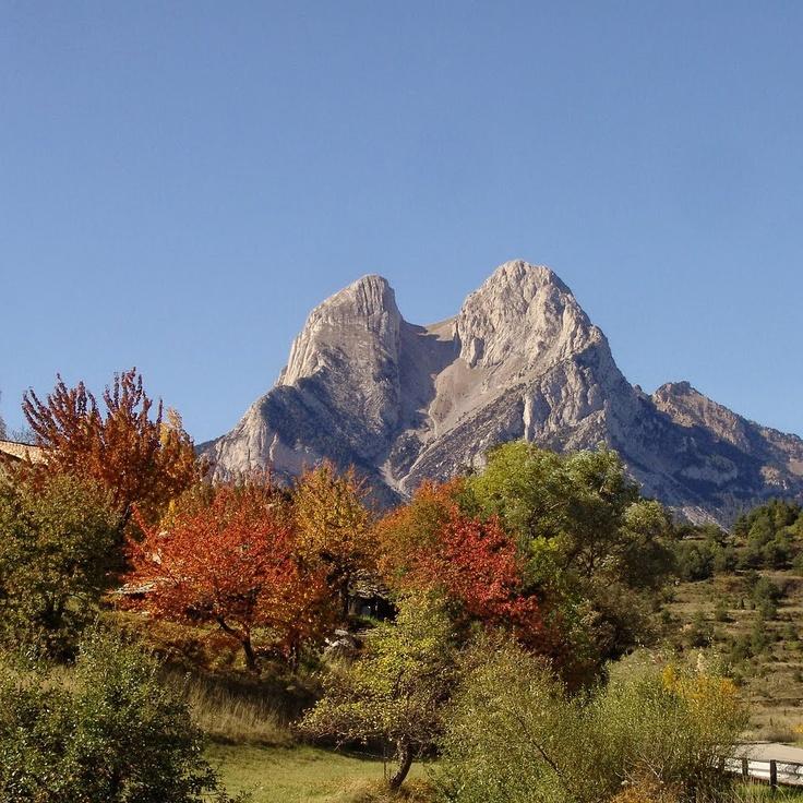 Pedraforca i tardor  Berguedà