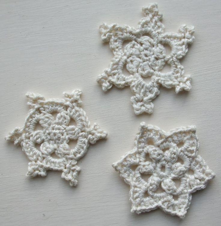 1277 best Gehaakte kerstversiering images on Pinterest | Hand crafts ...