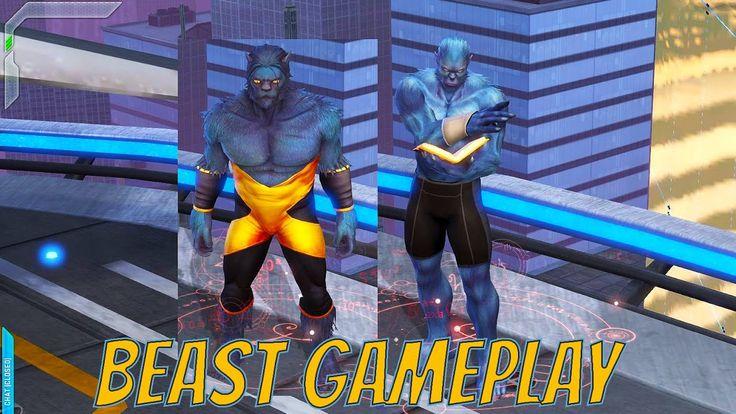 Marvel Heroes - Beast Gameplay (Test Center)