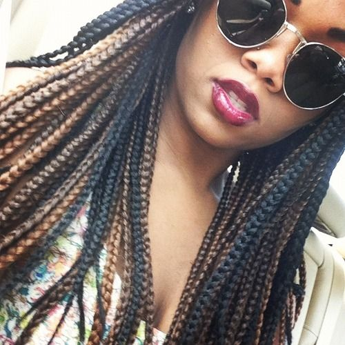 Crochet Box Braids Ombre : Aspir, Braids Beautiful, Braids Twists Dr., Ombre Box Braids, Braids ...